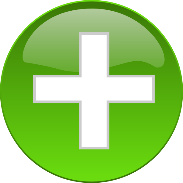 Medical cross clipart svg black and white Medical Cross Button Clip Art at Clker.com - vector clip art online ... svg black and white