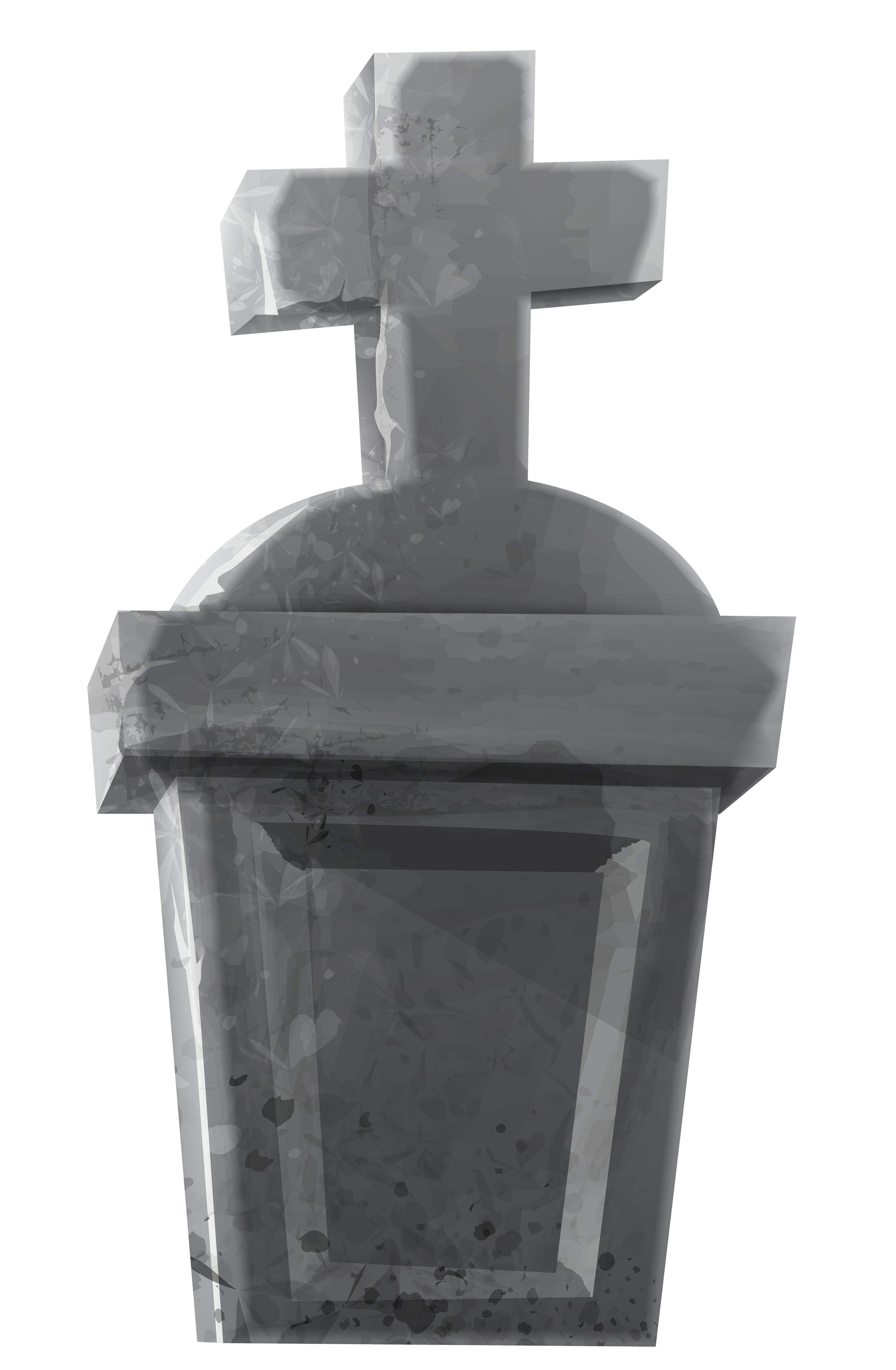 Cross clipart grey picture royalty free Haunted Tombstone PNG Clipart Image | Gallery Yopriceville - High ... picture royalty free