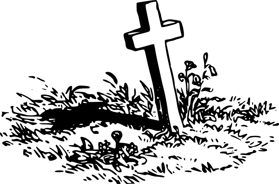 Grave cross clipart clip art royalty free download Grave With A Cross transparent PNG - StickPNG clip art royalty free download