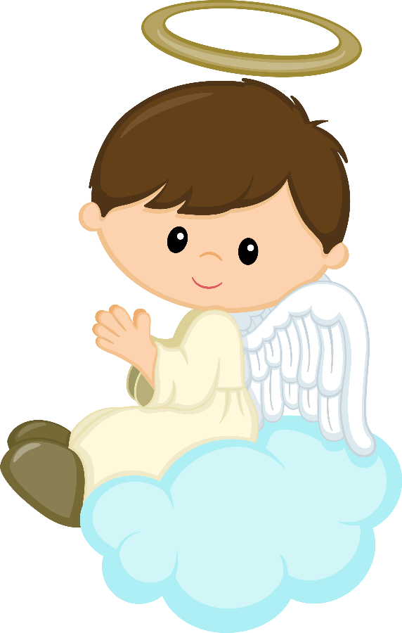 Cross clipart with cute saying png freeuse Minus - Say Hello! | CUMPLES | Pinterest | Angel, Baby cartoon and ... png freeuse