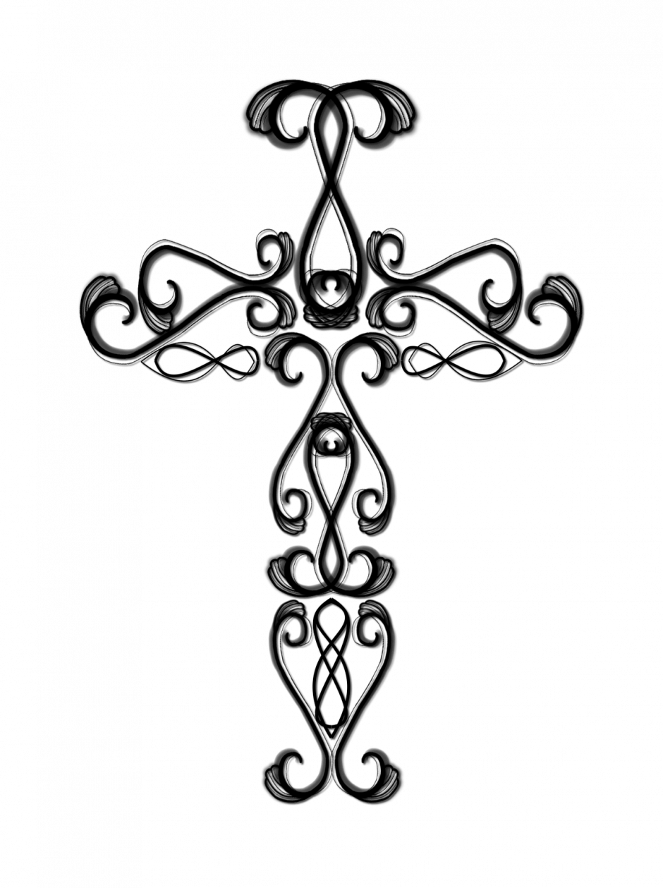 Wooden cross clipart black and white royalty free stock Wooden Cross Drawing | Clipart Panda - Free Clipart Images royalty free stock