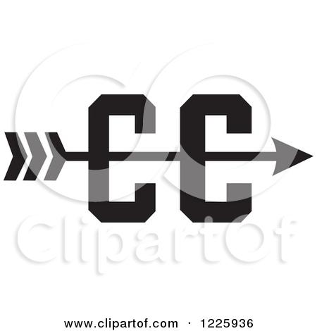 Cross country arrow clipart jpg library Cross country arrow clipart - ClipartFest jpg library