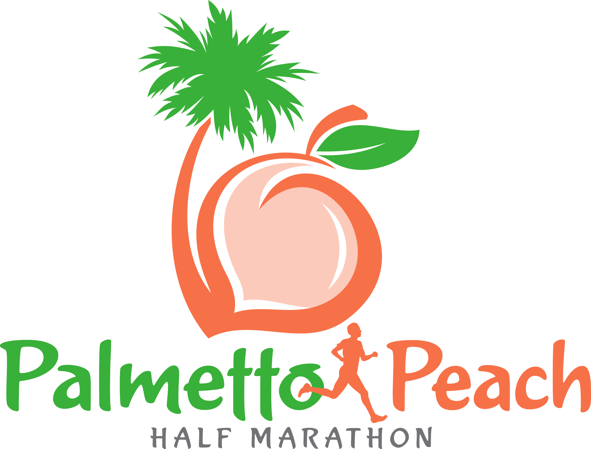 Cross country foot clipart clip freeuse Inaugural Palmetto Peach Half Marathon, 10k & 5k - Fleet Feet Sports ... clip freeuse