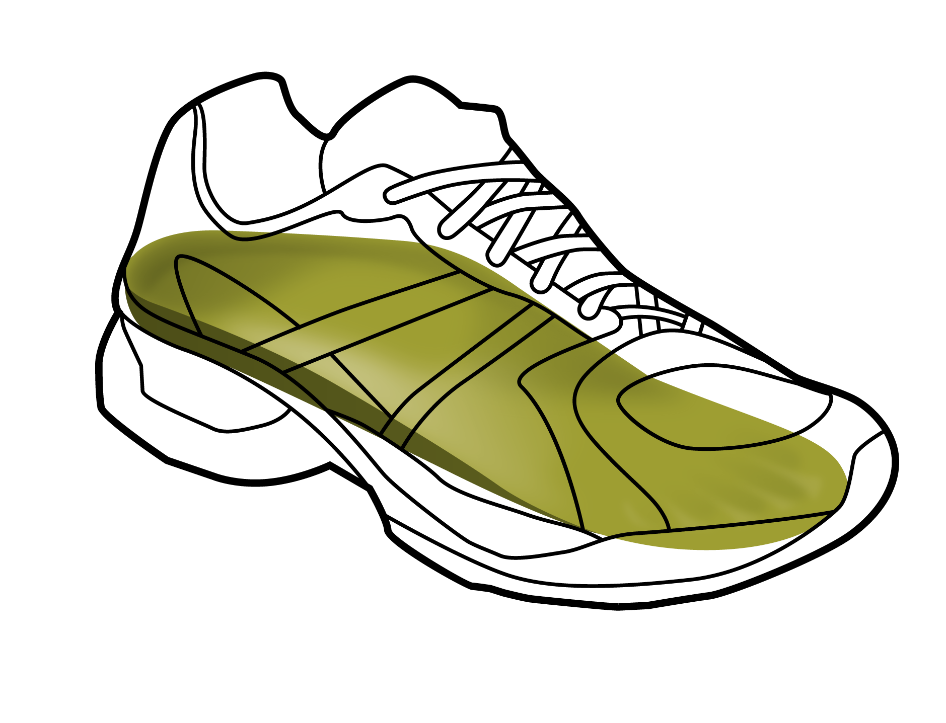 Cross country running shoe clipart image download Running Shoe Drawing at GetDrawings.com | Free for personal use ... image download