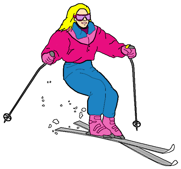Cross country ski clipart graphic royalty free library ski - /recreation/sports/ski/ski.png.html graphic royalty free library
