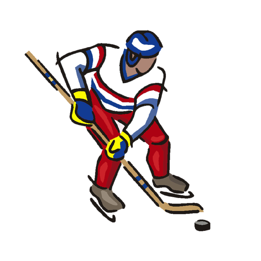 Cross country skier clipart jpg free stock Hockey Player Door Hanger – Mandys Moon Personalized Gifts jpg free stock