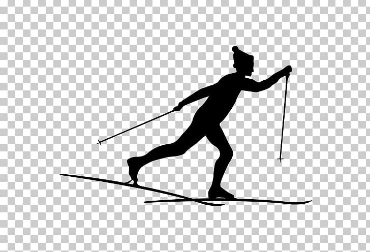 Cross country skier clipart black and white clip free T-shirt Ski Poles Cross-country Skiing PNG, Clipart, Alpine Skiing ... clip free