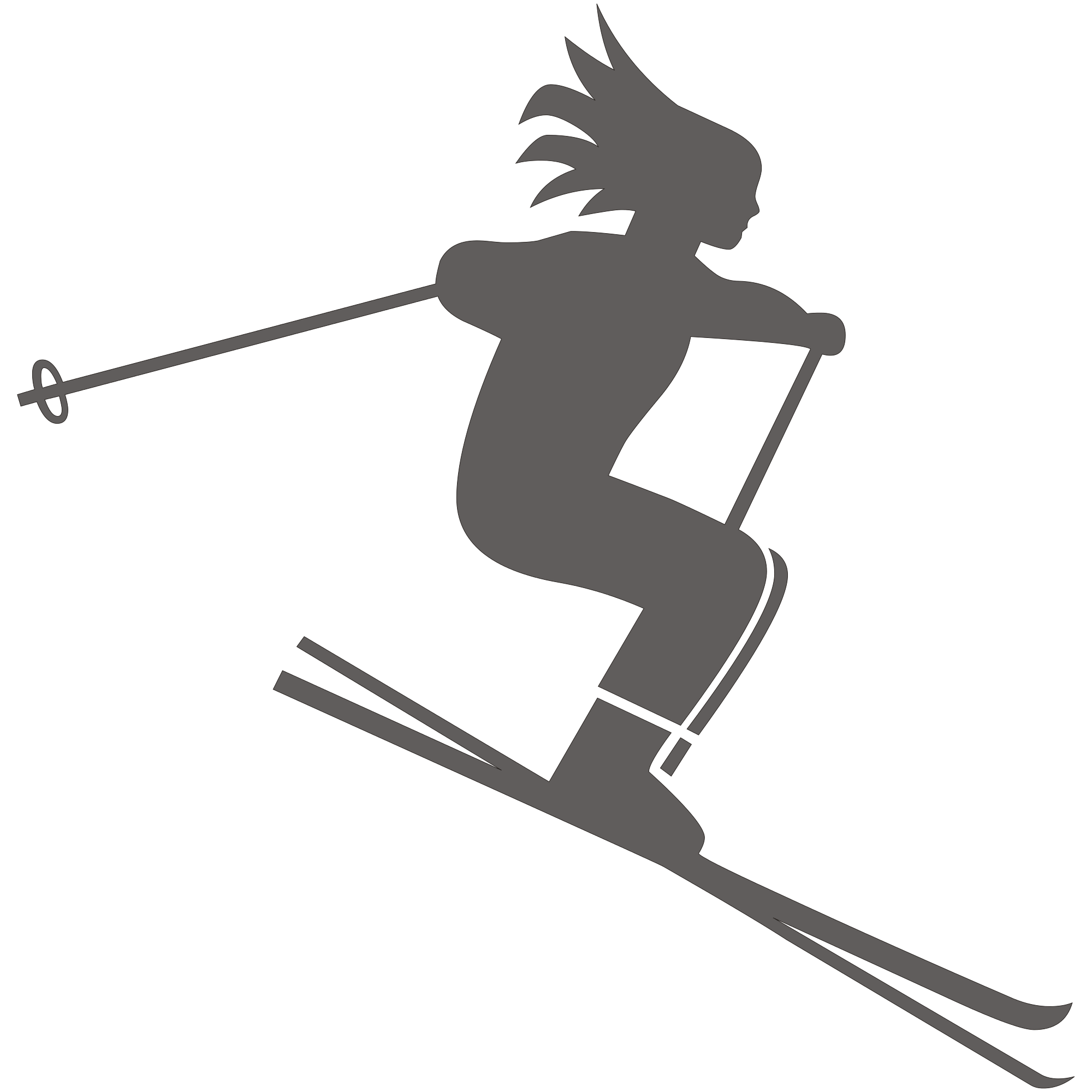 Cross country skis clipart image freeuse download Skiing PNG image freeuse download