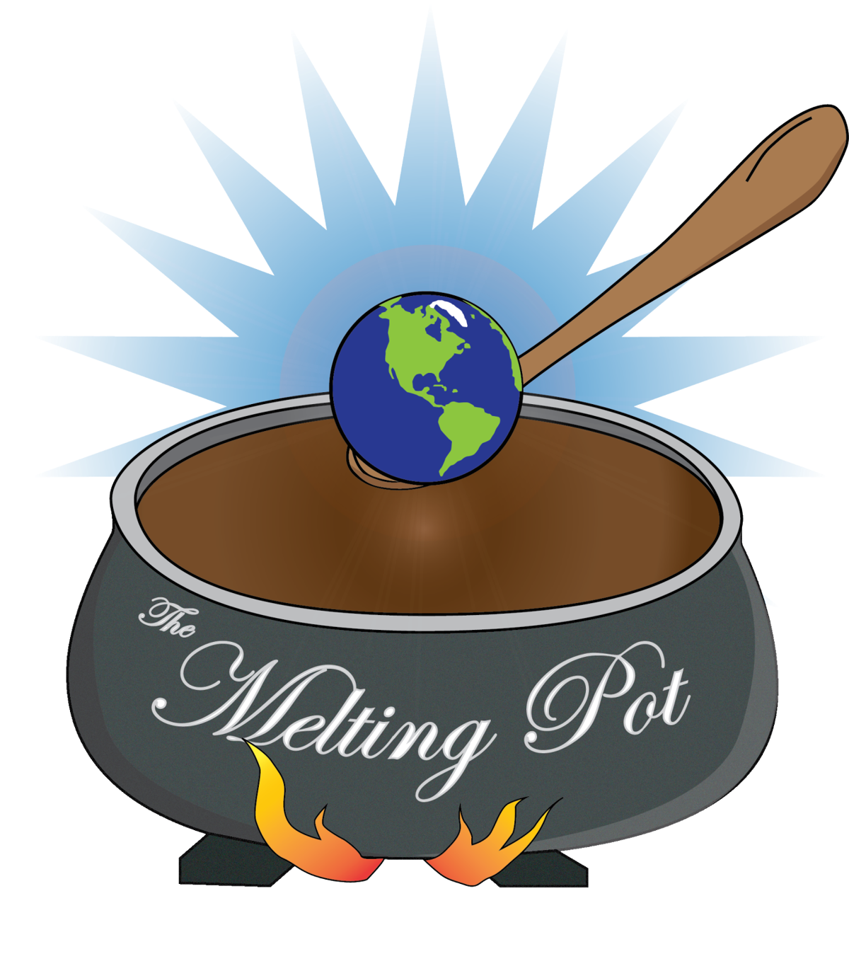 Cross culture clipart svg library stock Melting Pot Student Organization mixes cultures | Arts Entertainment ... svg library stock