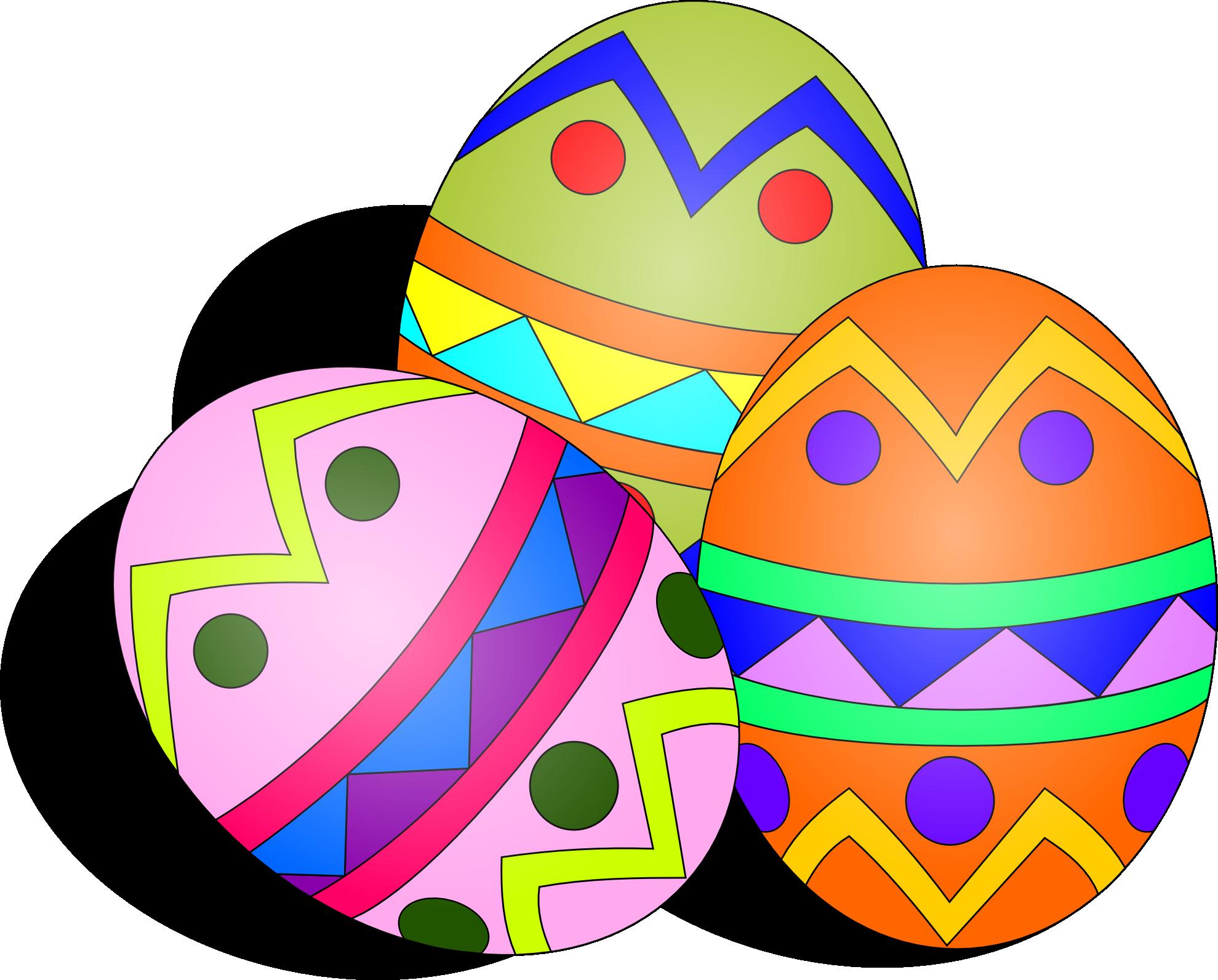 Cross eggs easter clipart vector free stock Easter Bunny With Eggs Clipart | Clipart Panda - Free Clipart Images vector free stock