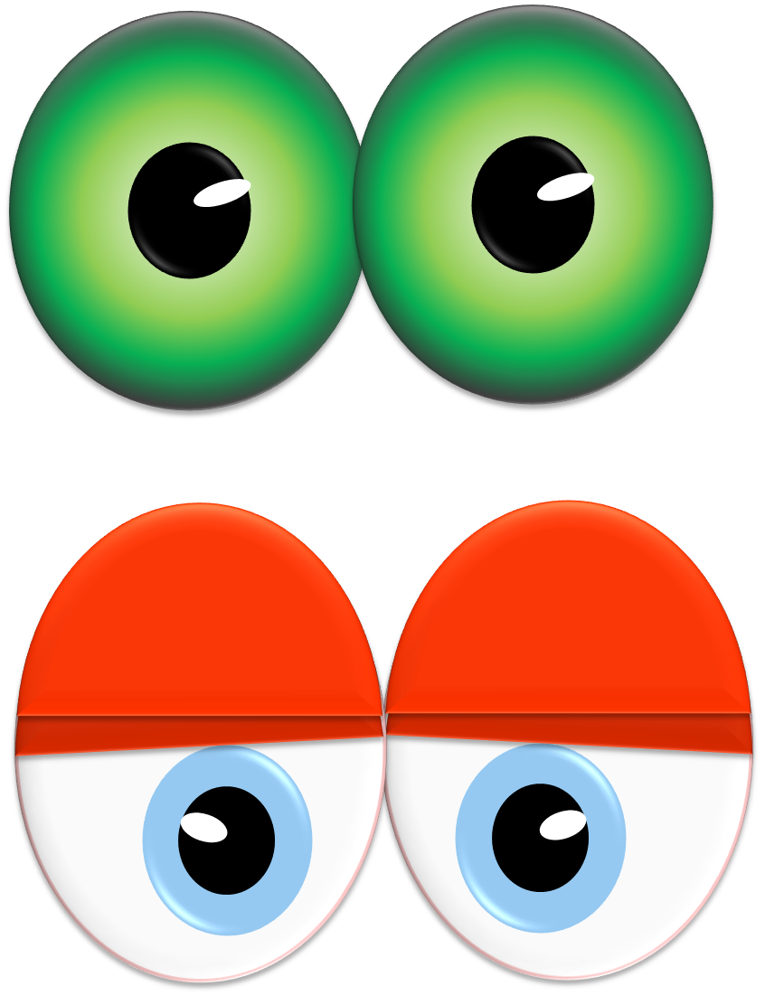 Cross eyed clipart picture library download Red eyed clipart - Clipground picture library download
