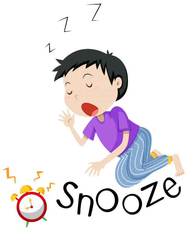 How i cure insomnia. Cross eyed tired insomniac writer clipart
