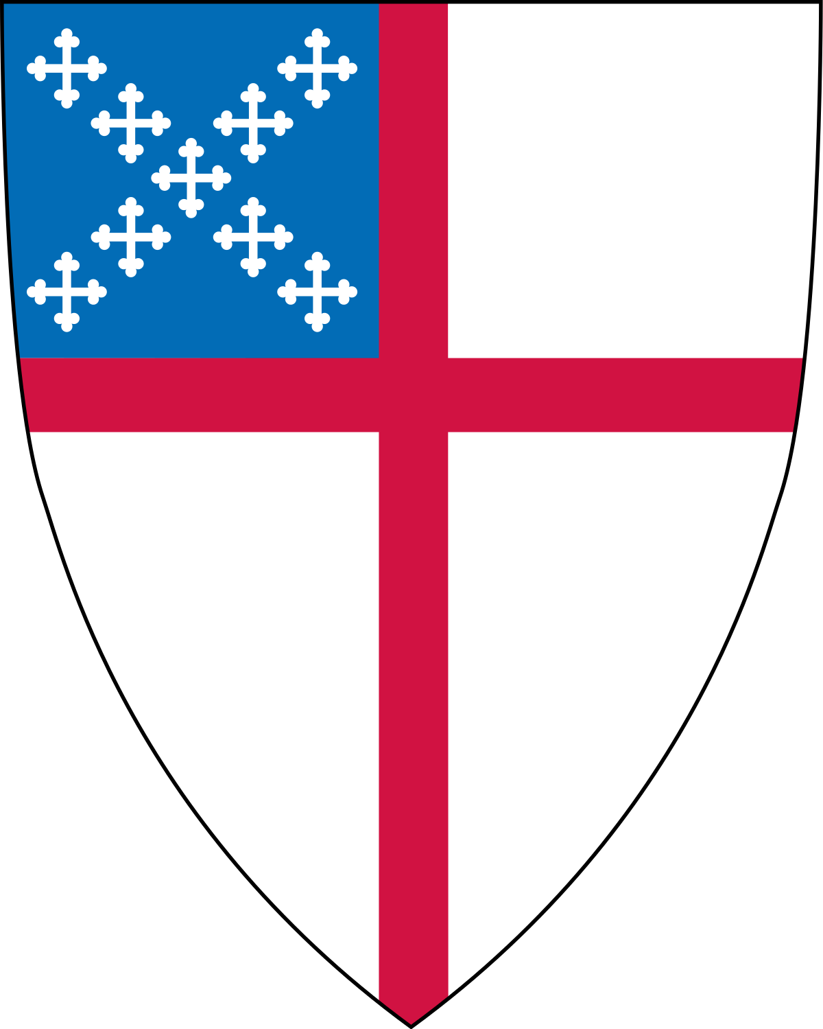 School symbol clipart black and white stock Episcopal Church (United States) - Wikipedia black and white stock