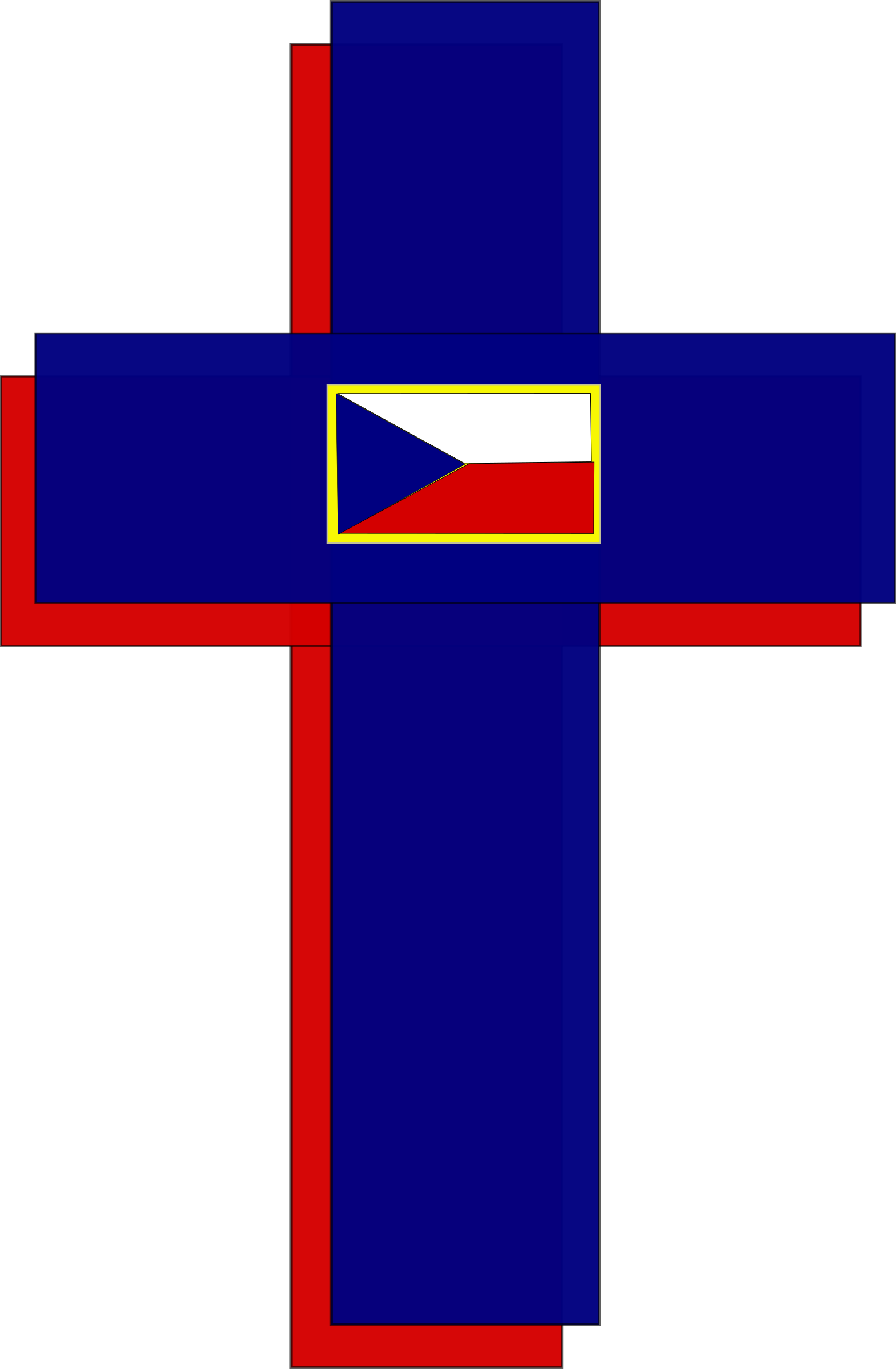 Cross flag clipart vector Clipart - Cross and Czech Flag vector