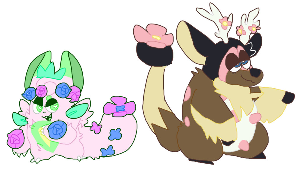 Cross flowery clipart picture free stock flowery pokemon crossbreeds (adopts?) by beiged on DeviantArt picture free stock