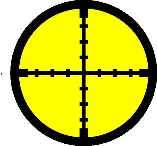 Cross hair clipart jpg download Yellow Target. Clip Art at Clker.com - vector clip art online ... jpg download