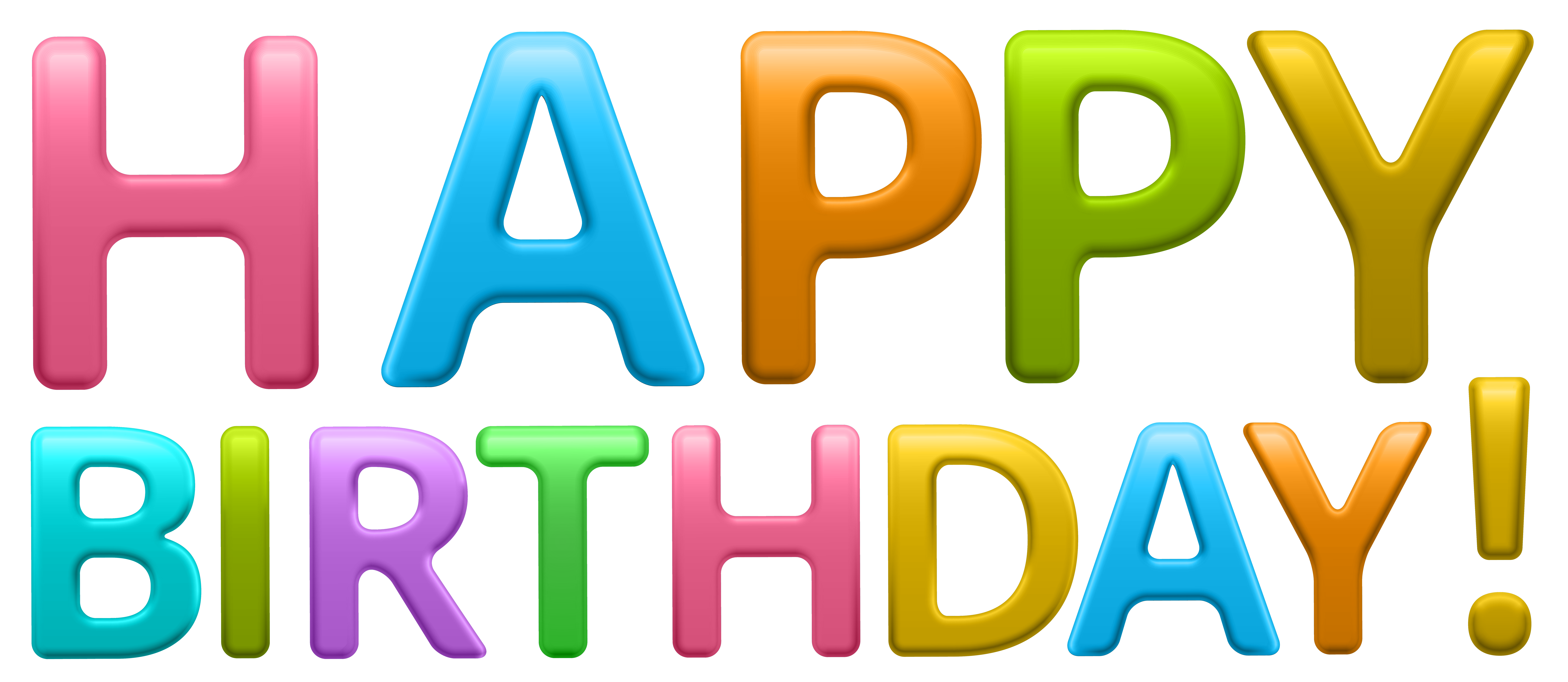 Free Clipart Happy Birthday - clipart clip black and white library