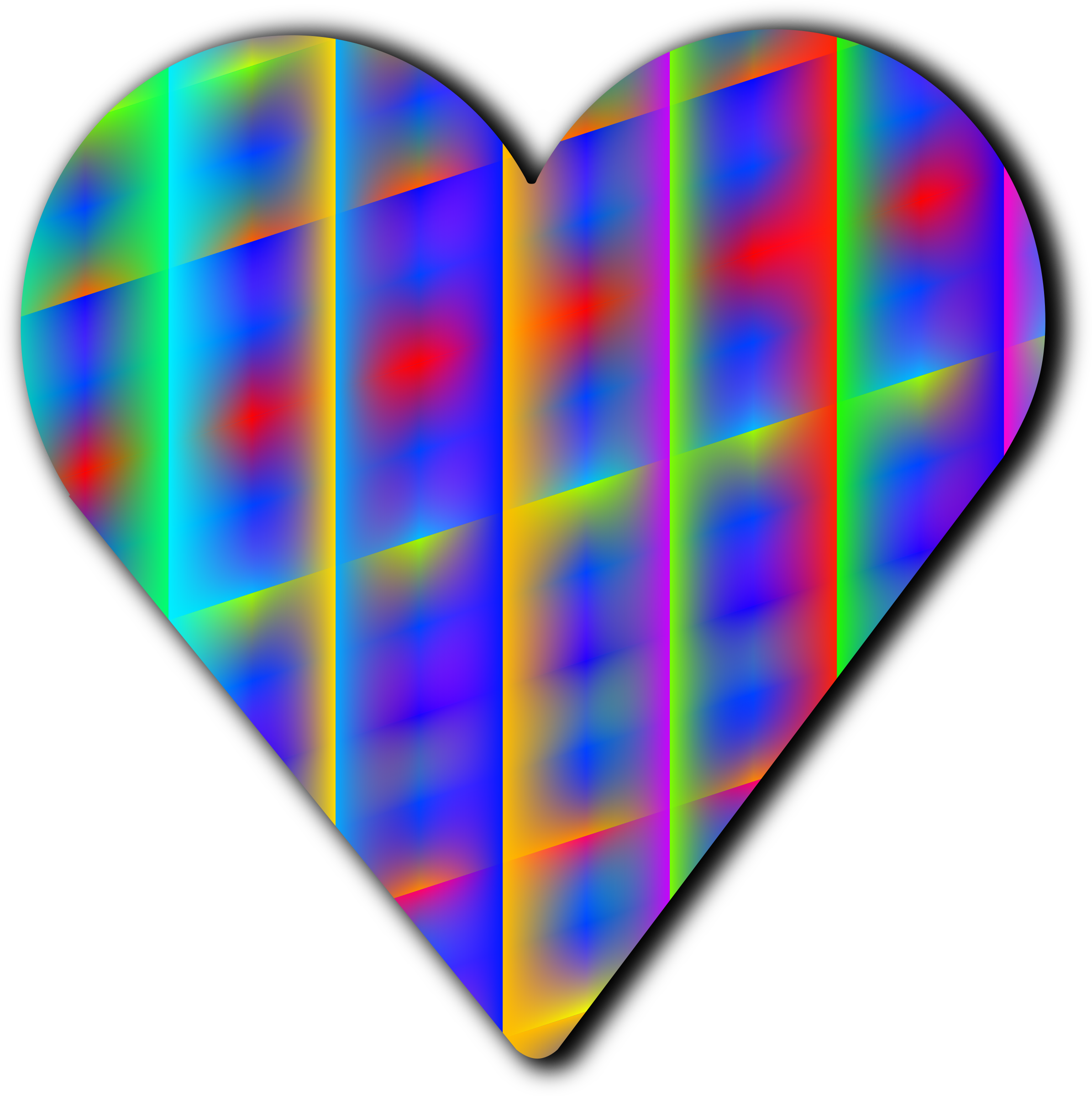 Clipart - Patterned heart 12 image library