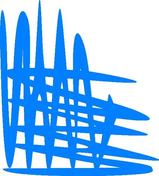 Blue Cross Hatch Shading Bottom Left Corner Clip Art at Clker.com ... vector library stock