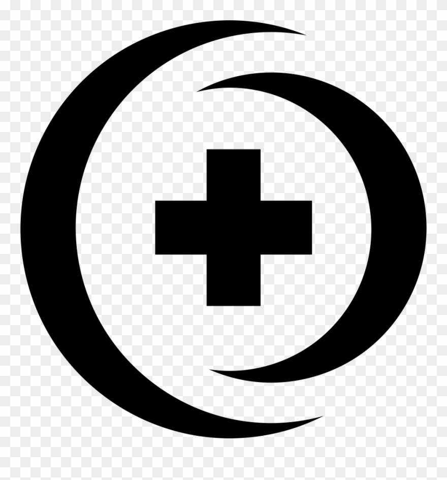 Cross in circle clipart black and white clipart Hospital Cross In 3d Circle Comments Clipart (#3005130) - PinClipart clipart