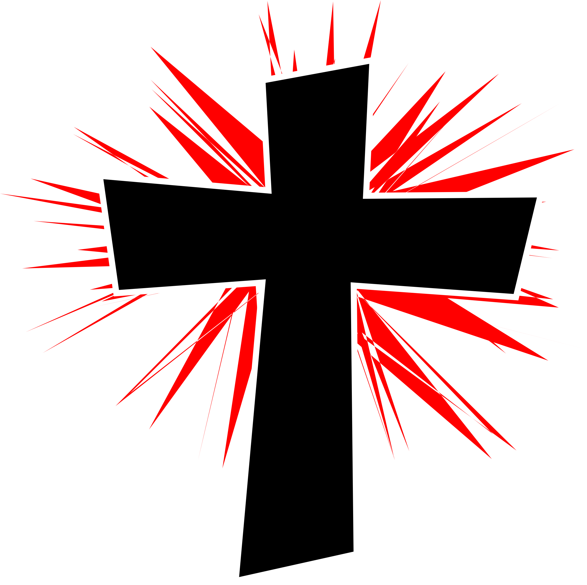Red white and blue cross clipart clip free download 28+ Collection of Glowing Cross Clipart | High quality, free ... clip free download