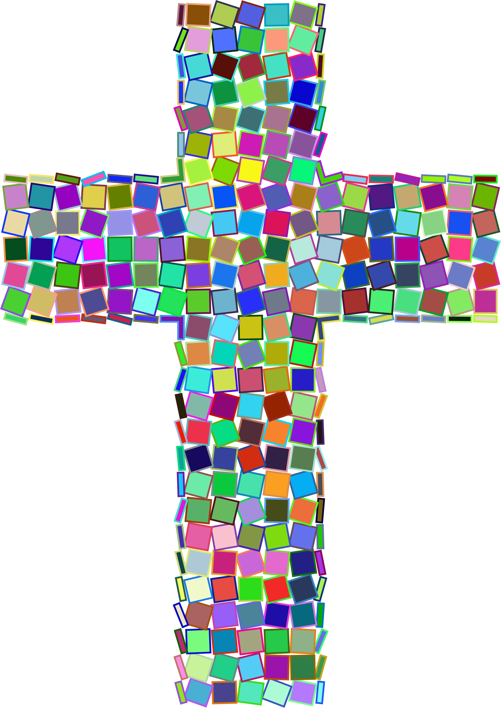 Stained glass cross clipart clipart library library Clipart - Prismatic Mosaic Cross clipart library library
