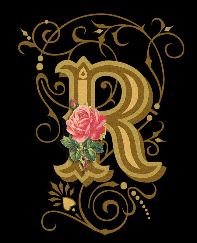 Cross monogram clipart. R png pinterest calligraphy