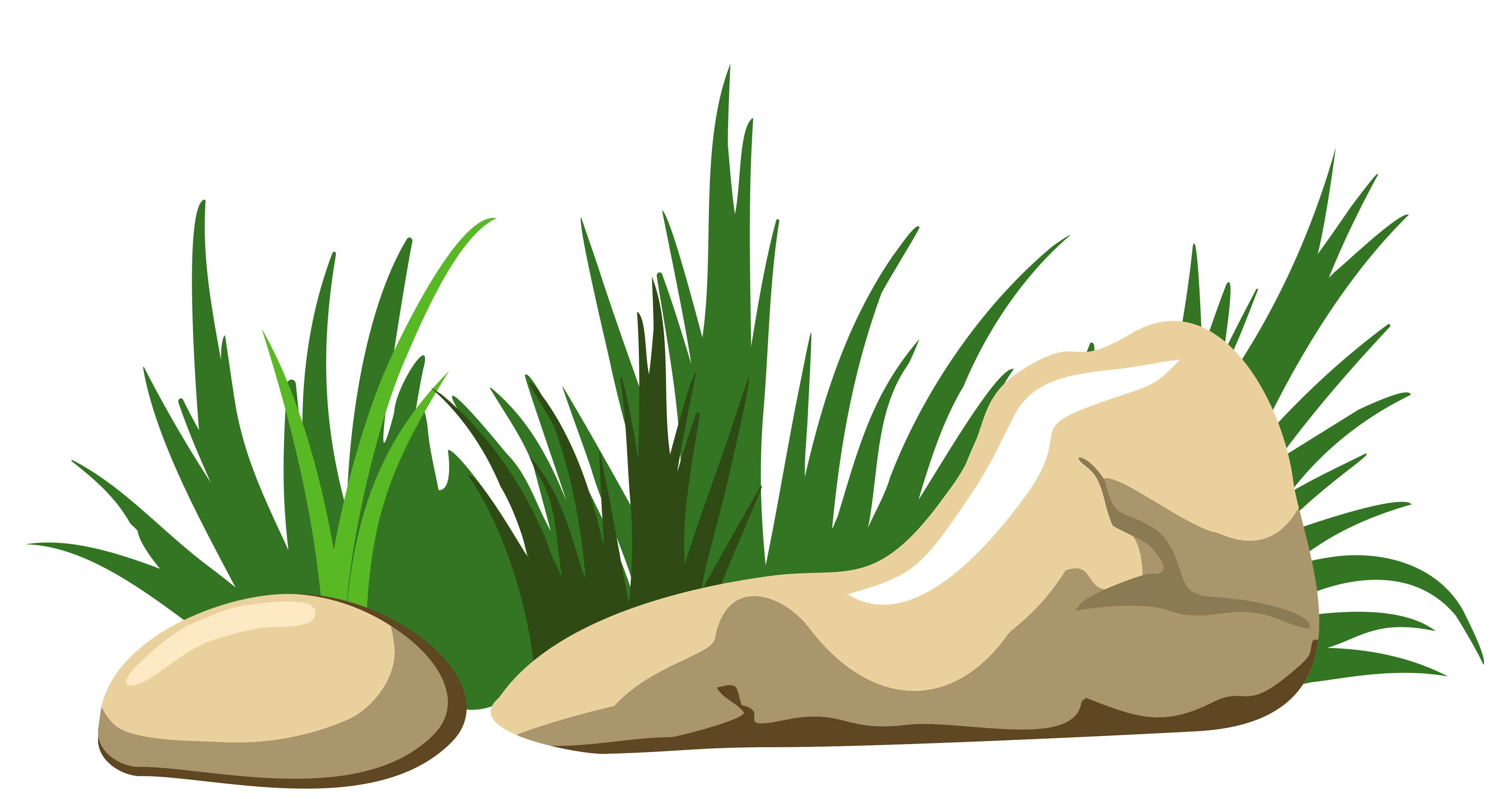 Cross on rock clipart jpg library download Rock Clip art - Grass and Stones Transparent PNG Clipart 4963*2624 ... jpg library download