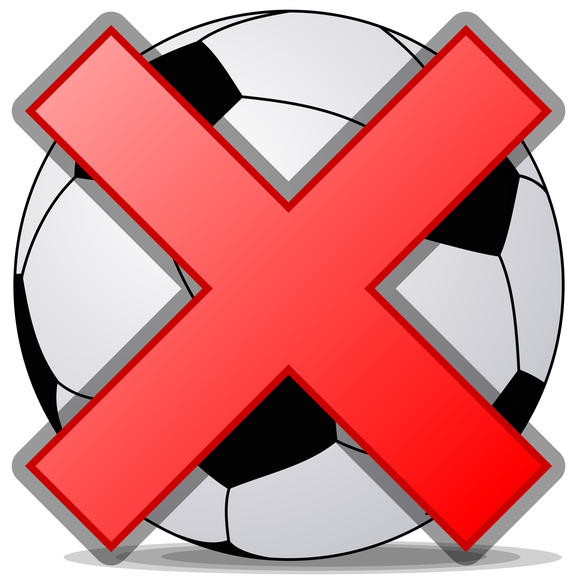 Cross out clipart clipart library File:Soccerball shade cross.svg - Wikimedia Commons clipart library