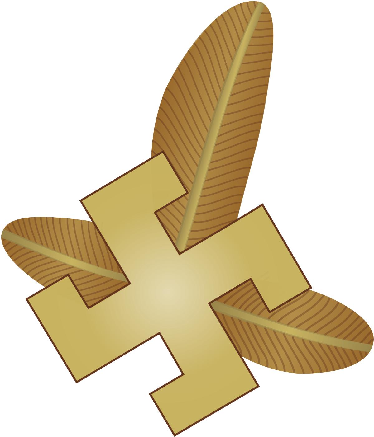 Cross rifles clipart svg freeuse 21st Mountain Infantry Division (Poland) - Wikipedia svg freeuse