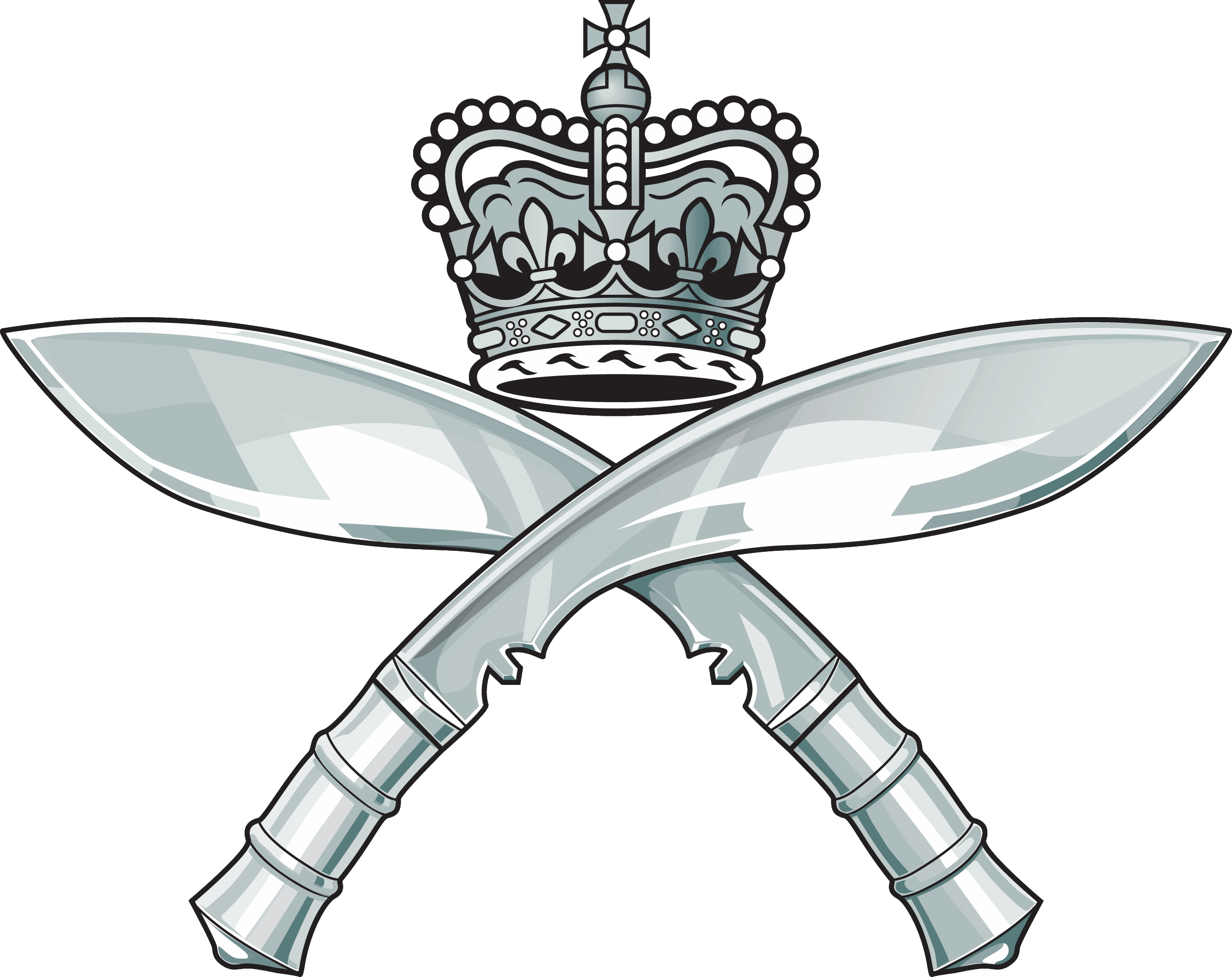 Cross rifles clipart clip The Royal Gurkha Rifles – Welcome to the Gurkha Brigade Association clip