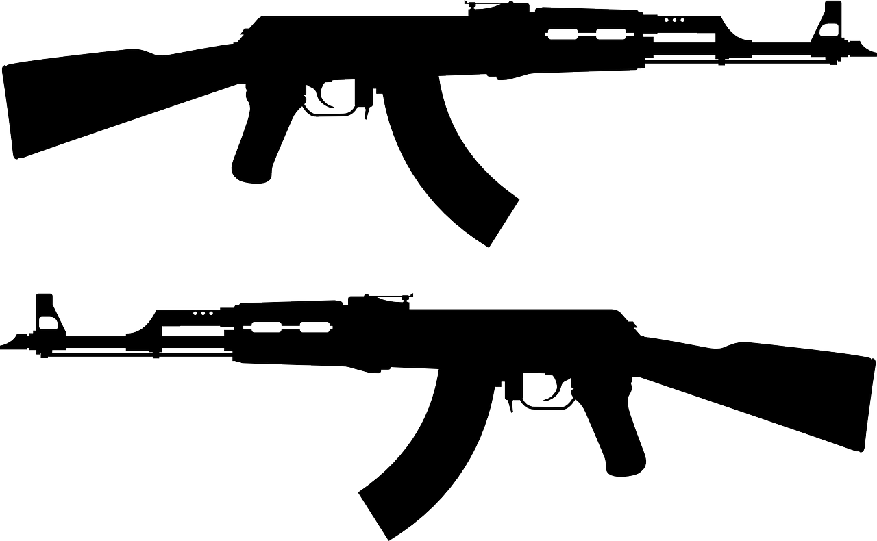 Cross rifles clipart clipart free download Orlando, claves del ataque | Política | Pinterest | Assault rifle ... clipart free download