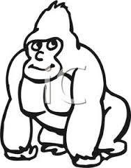 Cross river gorilla clipart. Cute google search decorations