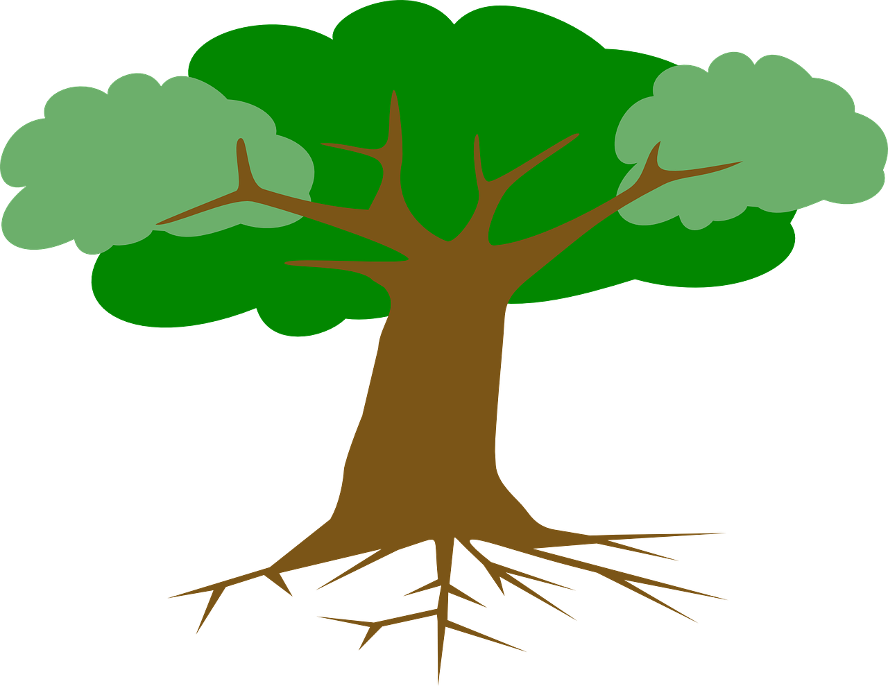 Cross roots clipart svg transparent Tree Roots Leaves Cross Section PNG Image - Picpng svg transparent