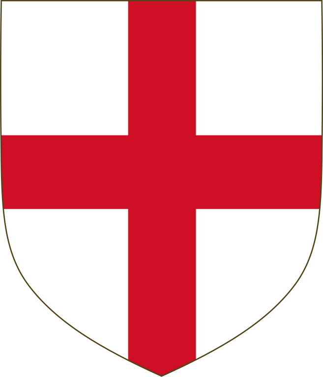 Cross shield clipart image free File:Red cross of England.svg - Wikimedia Commons image free