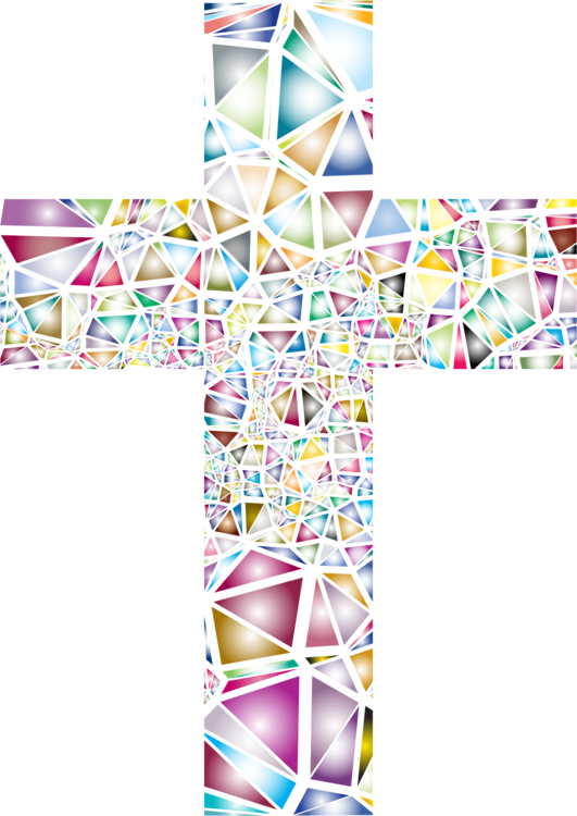Christian stained glass christianity. Cross stainglass clipart