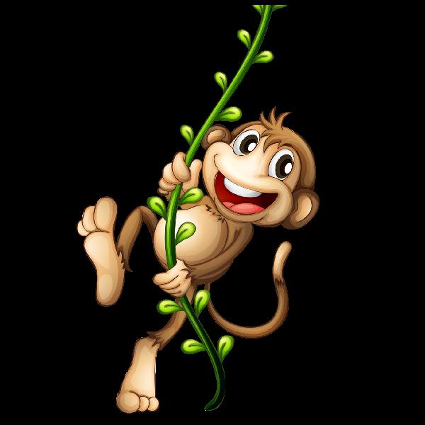 Cross stitch clipart jpg black and white stock cartoon-monkey-image_6.png (600×600) | Dibujos | Pinterest | Monkey ... jpg black and white stock