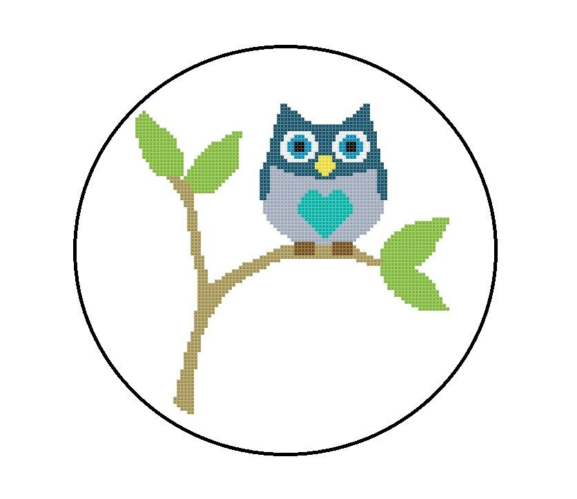 Cross stitch graphics and clipart cute free image stock Popular items for owl cross stitch on Etsy - Clip Art Library image stock