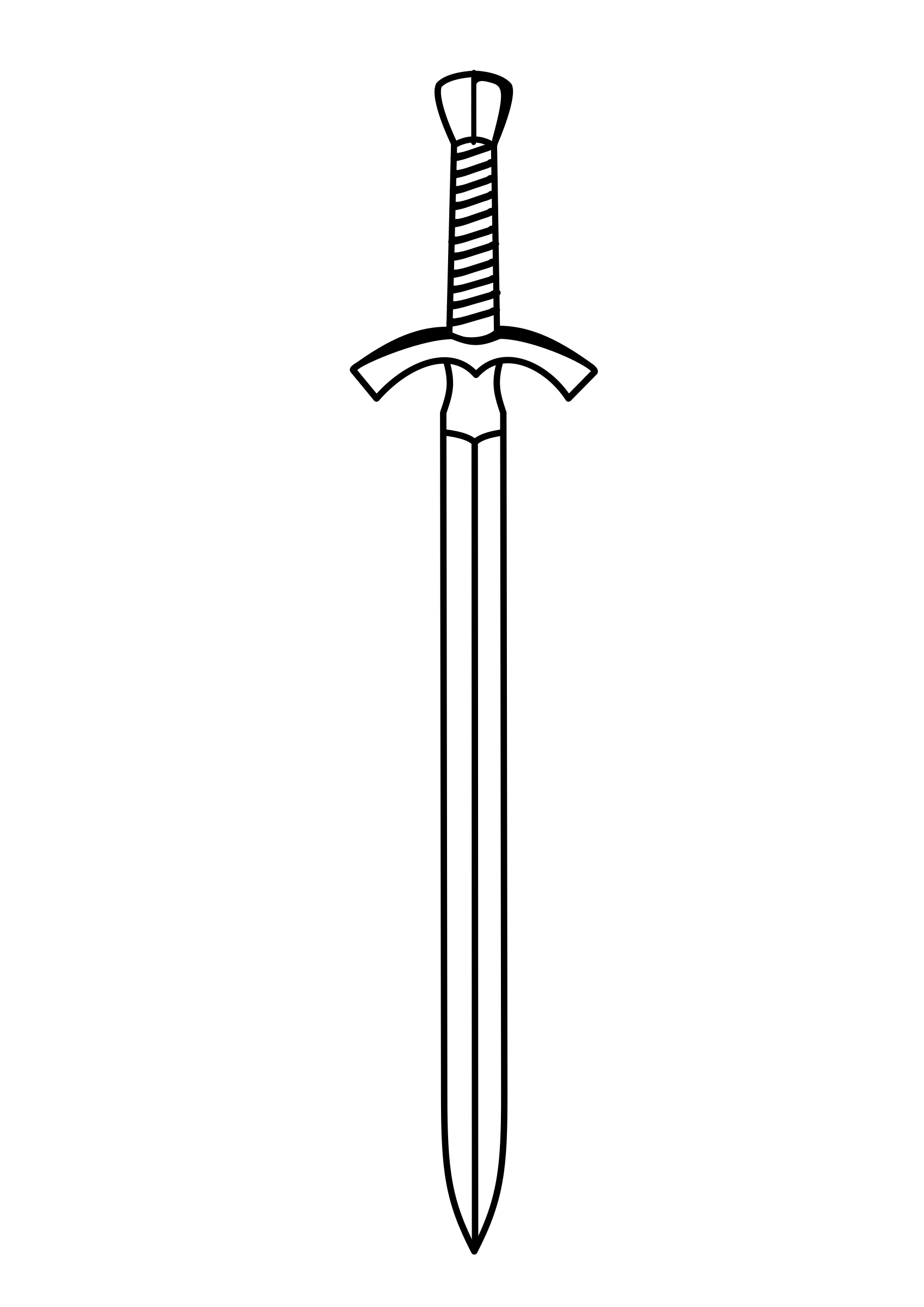 Cross sword clipart free library 28+ Collection of Sword Clipart Png | High quality, free cliparts ... free library