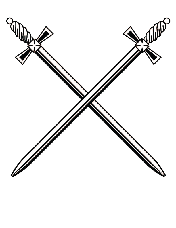 Sword and cross clipart svg black and white library Cross Sword | PNG Mart svg black and white library
