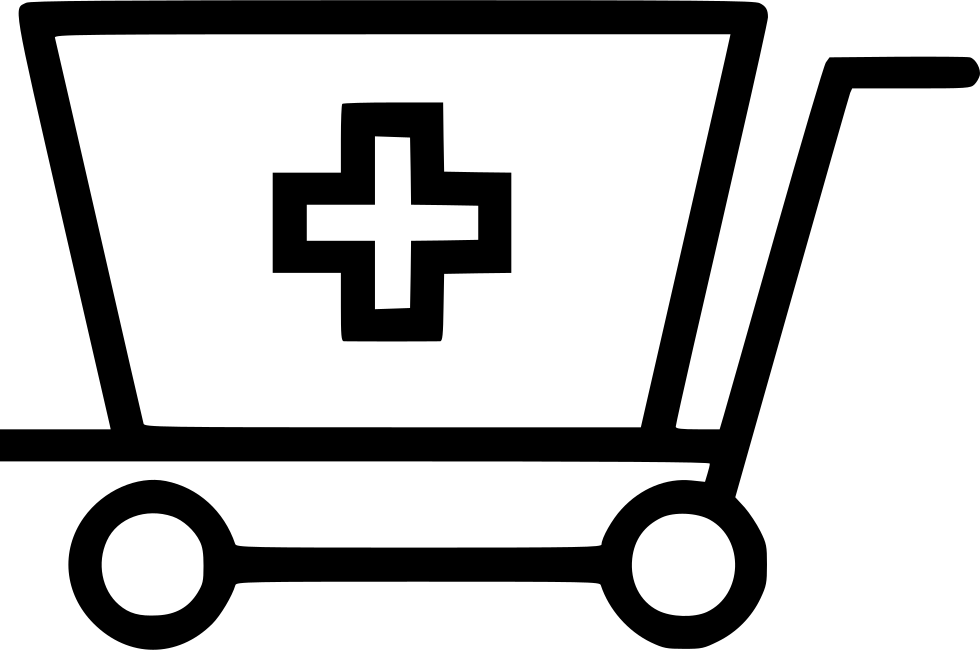 Doctor Cross Cart Trolly Svg Png Icon Free Download (#492740 ... clip royalty free