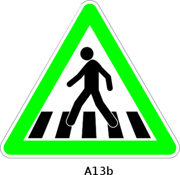 Cross walk clipart png library library 28+ Collection of Pedestrian Lane Clipart | High quality, free ... png library library