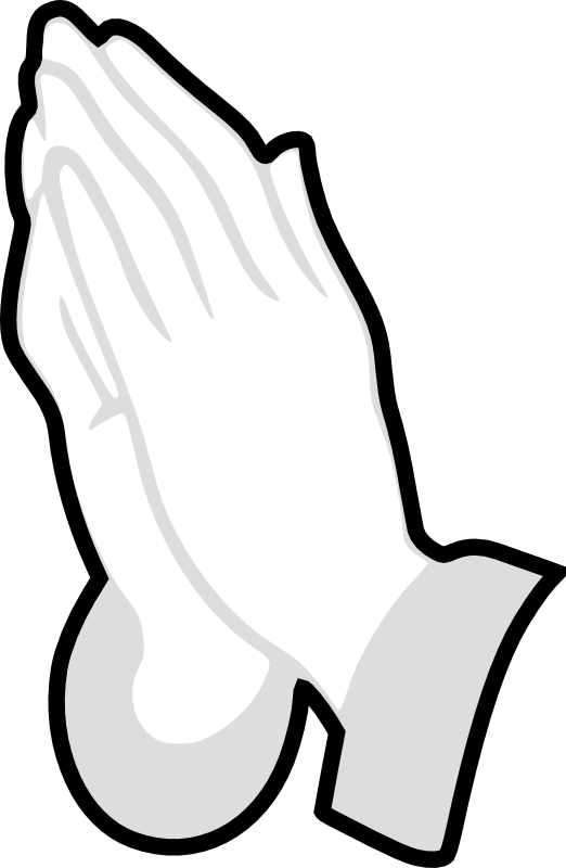 Cross with hands praising clipart clip transparent library Open Hands Of God | Clipart Panda - Free Clipart Images clip transparent library