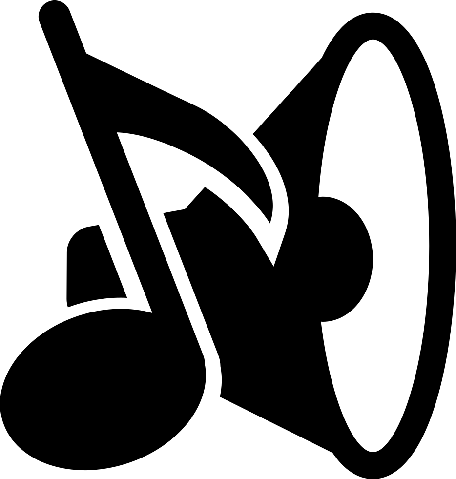 Cross with music notes clipart clip art free Music Speaker And Musical Note Svg Png Icon Free Download (#40245 ... clip art free