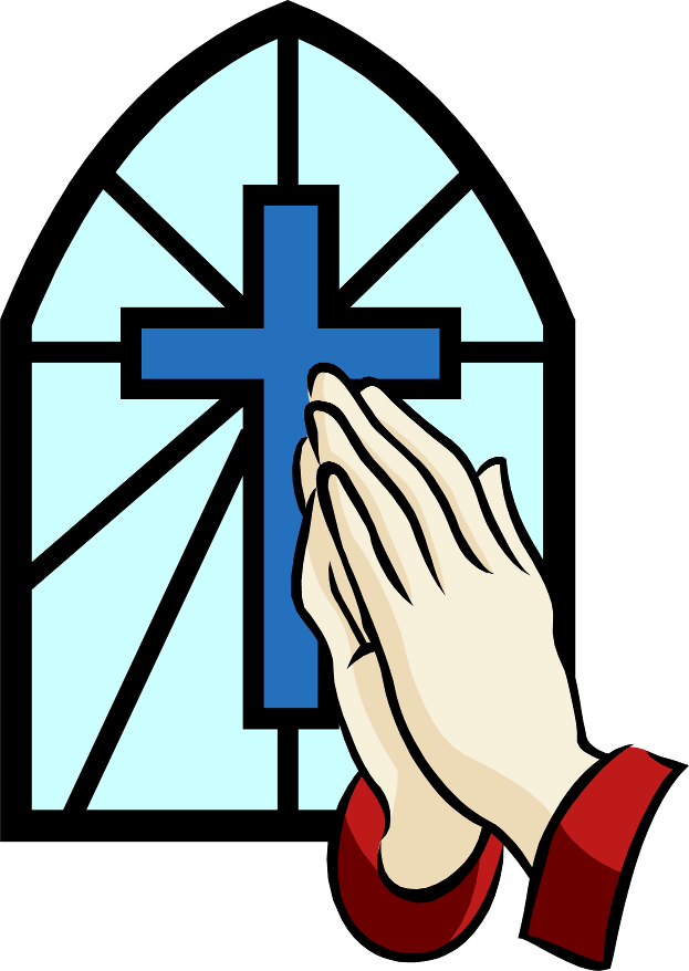 Cross with praying hands clipart graphic transparent download Praying Hands Prayer Drawing Clip art - pray 623*878 transprent Png ... graphic transparent download