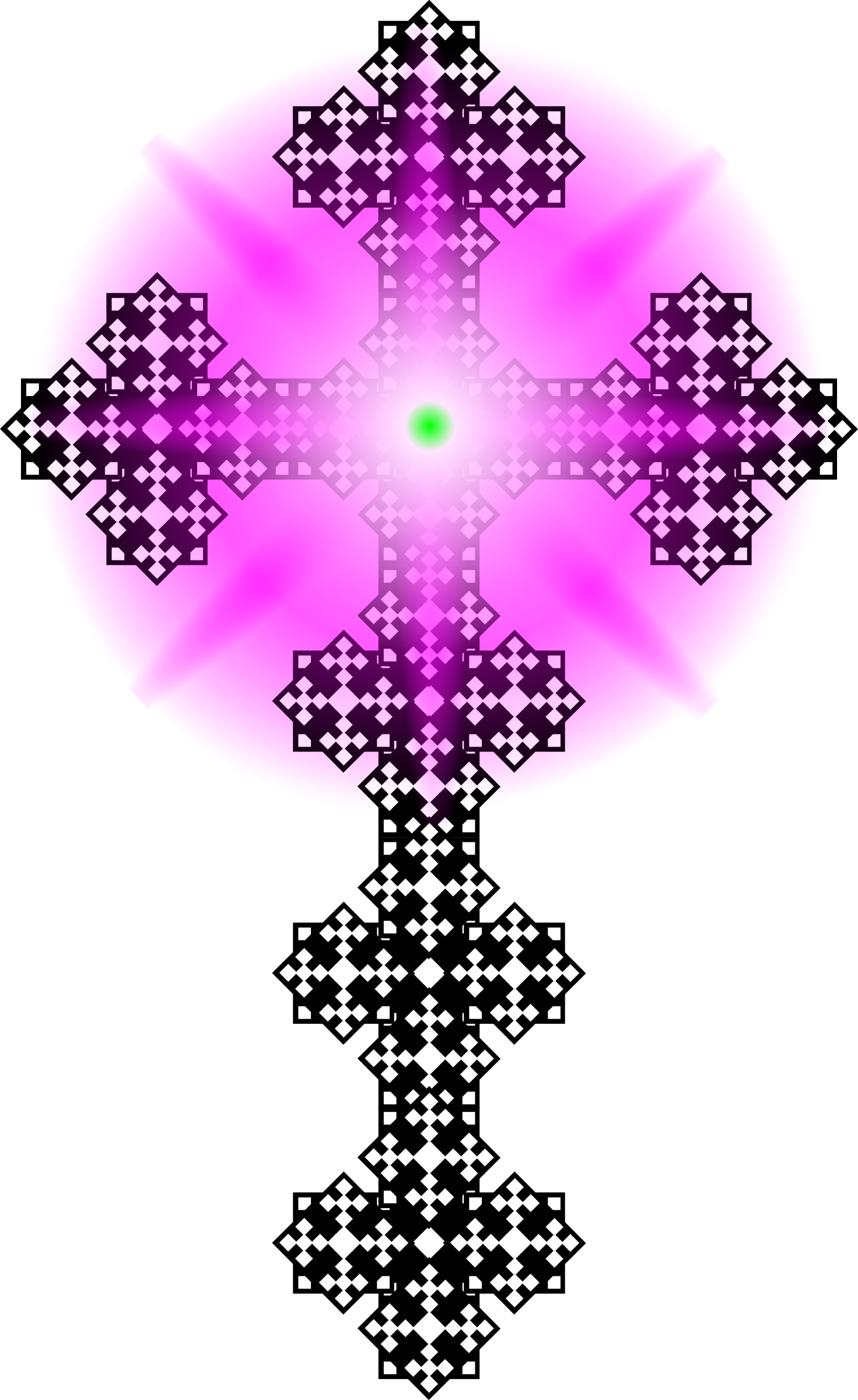 Cross with purple clipart jpg free library Clipart - Tile Cross 2 jpg free library