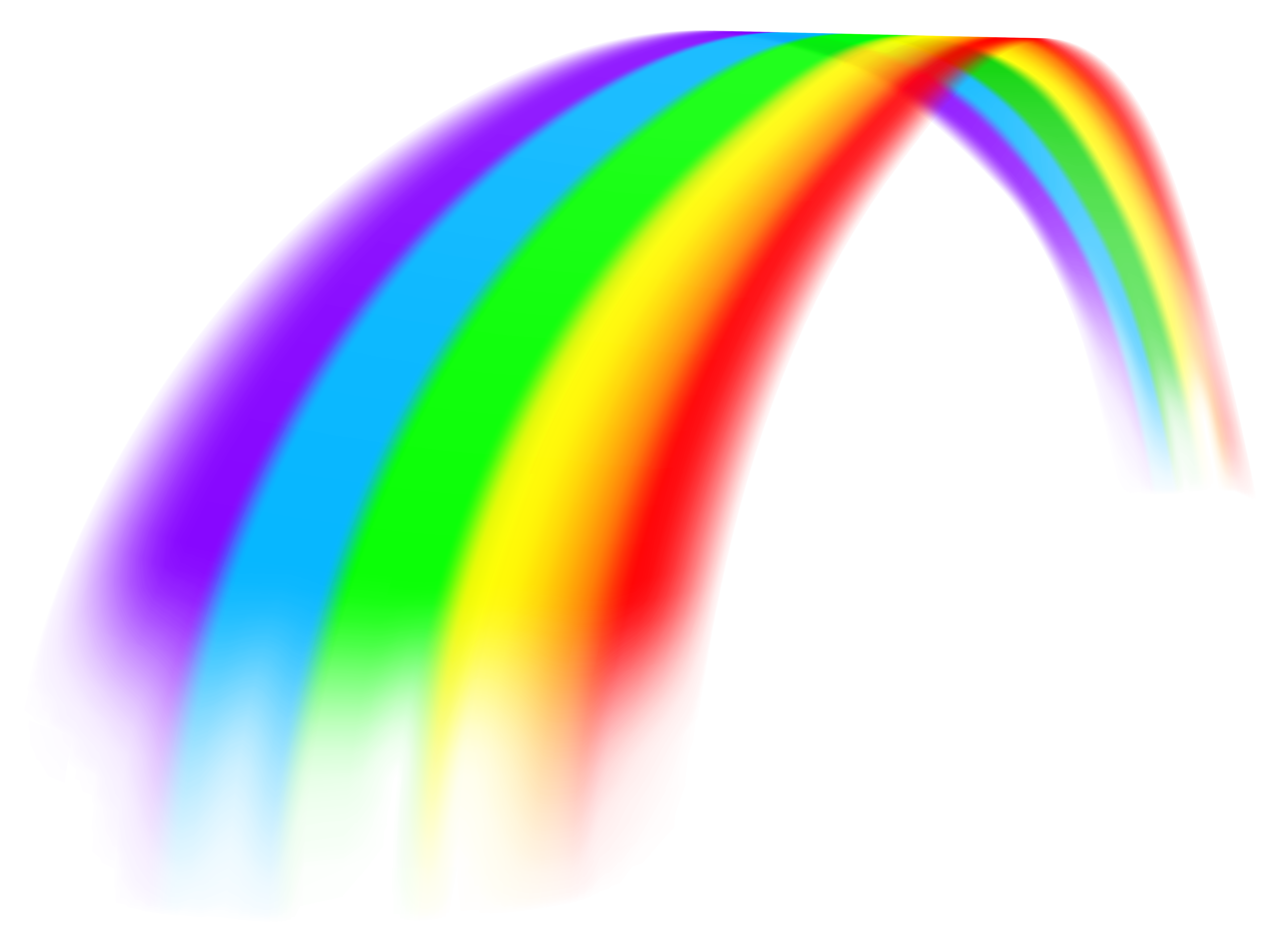Rainbow and sun clipart large png freeuse Rainbow Large Transparent PNG Clipart | Gallery Yopriceville - High ... png freeuse