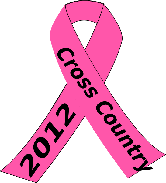 Cross with ribbon clipart clip art black and white download Brooks Pink Ribbon Clip Art at Clker.com - vector clip art online ... clip art black and white download