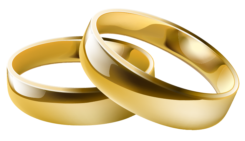 Free Wedding Ring Clipart 6 Pictures - Clipartix banner transparent library