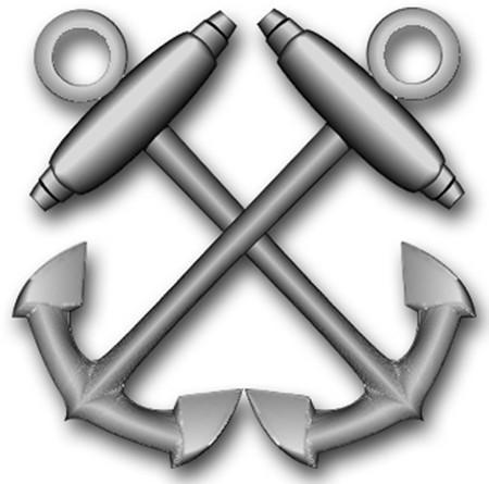 Crossed anchors clipart